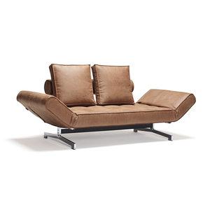 Lederen Design Slaapbank.Leren Slaapbanken Bij Furnea Een Luxe Bank Plus Comfortabel Bed