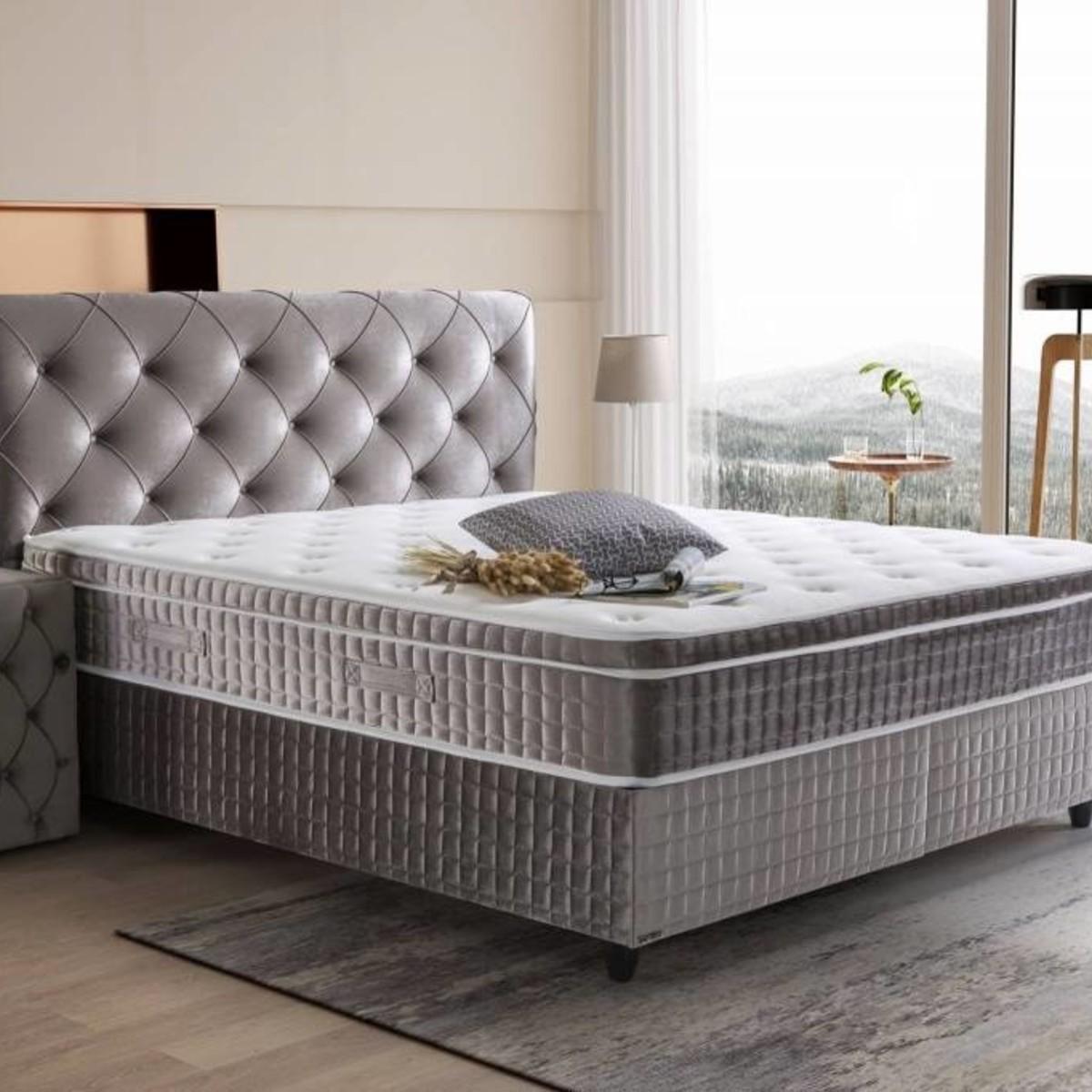 Luxe 2 Persoons Bedbank.2 Persoons Boxsprings Bij Furnea Gezellig Samen In Een Luxe Bed