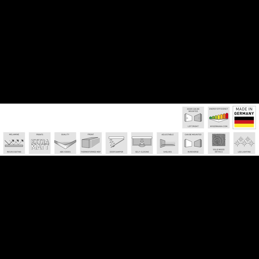 Germania Tropea Badkamerkast Small