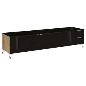 Maja Moebel Shino TV-meubel Deluxe Eiken/Zwart