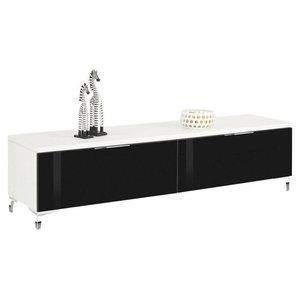 Maja Moebel Shino TV-meubel Deluxe Wit/Zwart
