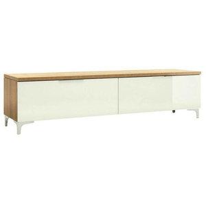 Maja Moebel Shino TV-meubel Large Eiken/Wit