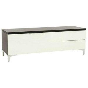Maja Moebel Shino TV-meubel Medium Zwart/Wit