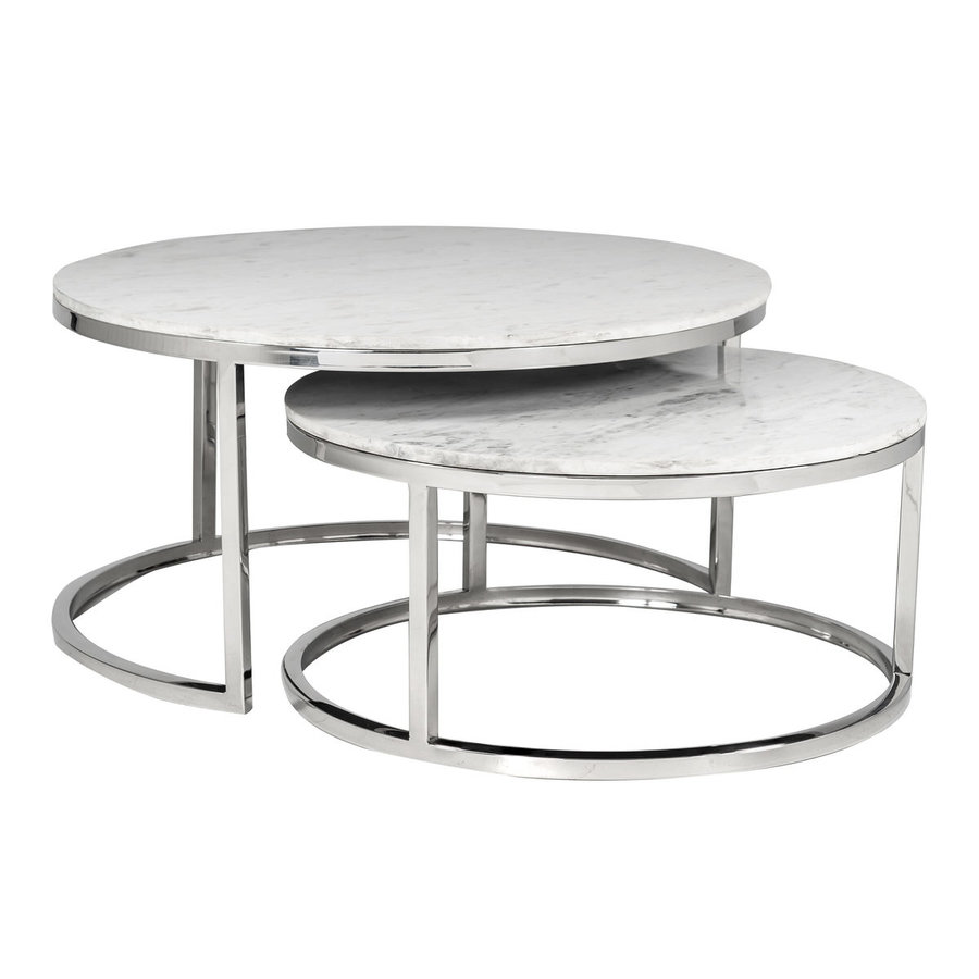 Levanto Salontafel Set Rond