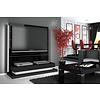 Panorama Lux TV meubel Hoogglans Zwart