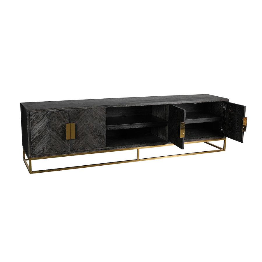 Blackbone TV-meubel 220 cm Goud
