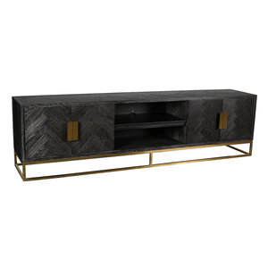 Richmond Interiors Blackbone TV-meubel 220 cm Goud