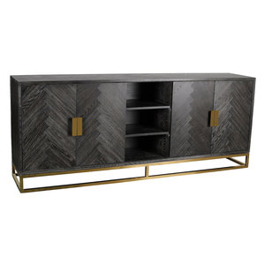 Richmond Interiors Blackbone Dressoir Goud