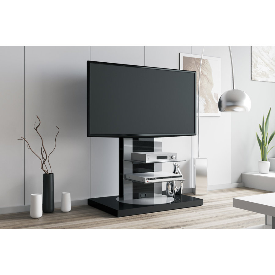 Roma TV-meubel Two Zwart