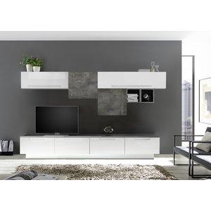 Benvenuto Design Bex TV-wandmeubel 17 Wit / Oxid