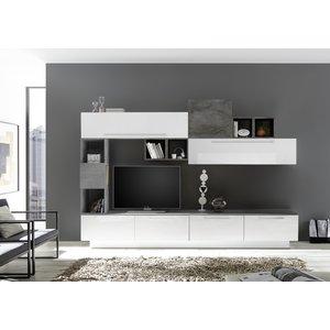 Benvenuto Design Bex TV-wandmeubel 19 Wit / Oxid