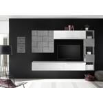 Bex TV-wandmeubel 24 Wit / Beton