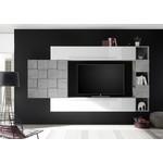 Bex TV-wandmeubel 25 Wit / Beton