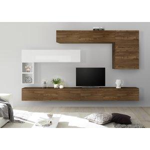 Benvenuto Design Bex TV-wandmeubel 31 Walnoot