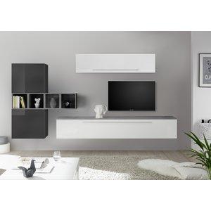 Benvenuto Design Bex TV-wandmeubel 36 Grijs