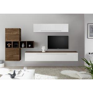 Benvenuto Design Bex TV-wandmeubel 36 Walnoot