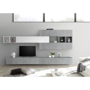Benvenuto Design Bex TV-wandmeubel 37 Beton