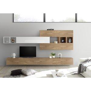 Benvenuto Design Bex TV-wandmeubel 37 Eiken