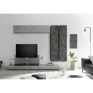 Benvenuto Design Bex TV-wandmeubel 38 Oxid
