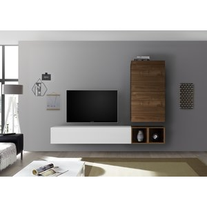 Benvenuto Design Bex TV-wandmeubel 40 Walnoot