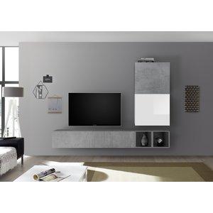 Benvenuto Design Bex TV-wandmeubel 40 Beton