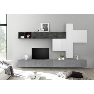 Benvenuto Design Bex TV-wandmeubel 41 Oxid