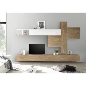 Benvenuto Design Bex TV-wandmeubel 41 Eiken