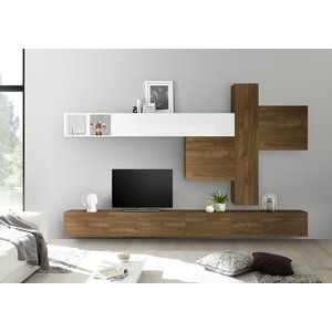 Benvenuto Design Bex TV-wandmeubel 41 Walnoot