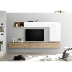 Benvenuto Design Bex TV-wandmeubel 42 Eiken