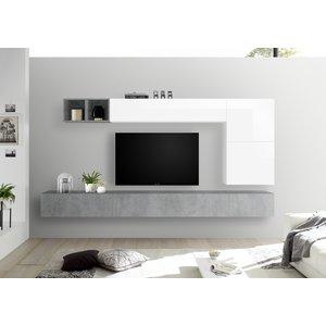 Benvenuto Design Bex TV-wandmeubel 42 Beton