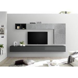 Benvenuto Design Bex TV-wandmeubel 42 Grijs