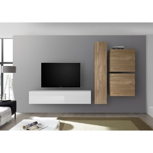 Benvenuto Design Bex TV-wandmeubel 43 Eiken