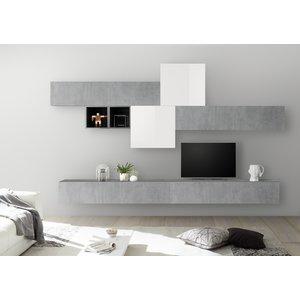 Benvenuto Design Bex TV-wandmeubel 44 Beton