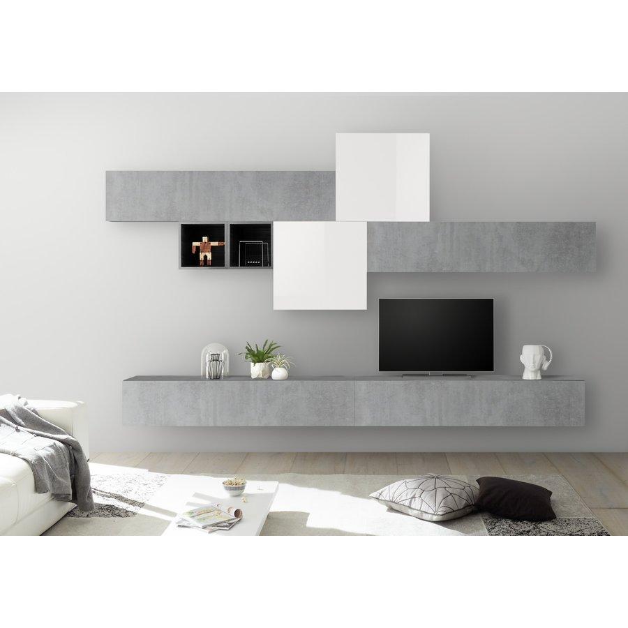 Bex TV-wandmeubel 44 Beton