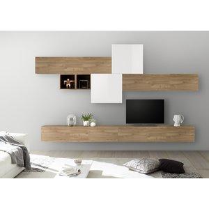 Benvenuto Design Bex TV-wandmeubel 44 Eiken