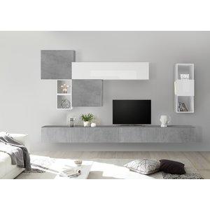 Benvenuto Design Bex TV-wandmeubel 45 Beton