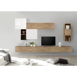 Benvenuto Design Bex TV-wandmeubel 45 Eiken