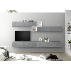 Benvenuto Design Bex TV-wandmeubel 47 Beton