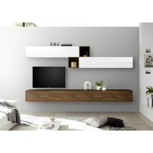 Benvenuto Design Bex TV-wandmeubel 47 Walnoot