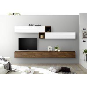 Benvenuto Design Bex TV-wandmeubel 47 Walnoot