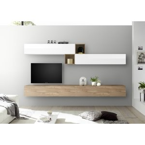 Benvenuto Design Bex TV-wandmeubel 47 Eiken