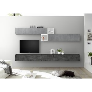 Benvenuto Design Bex TV-wandmeubel 47 Oxid