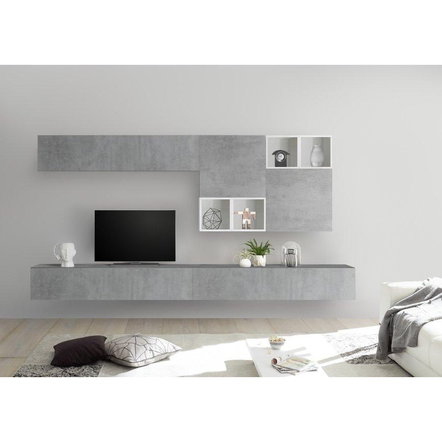 Bex TV-wandmeubel 48 Beton