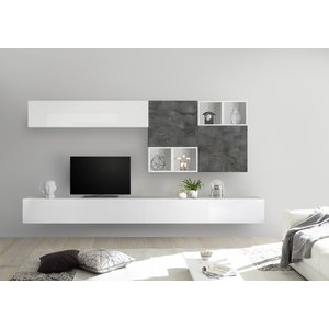 Benvenuto Design Bex TV-wandmeubel 48 Oxid