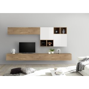 Benvenuto Design Bex TV-wandmeubel 48 Eiken