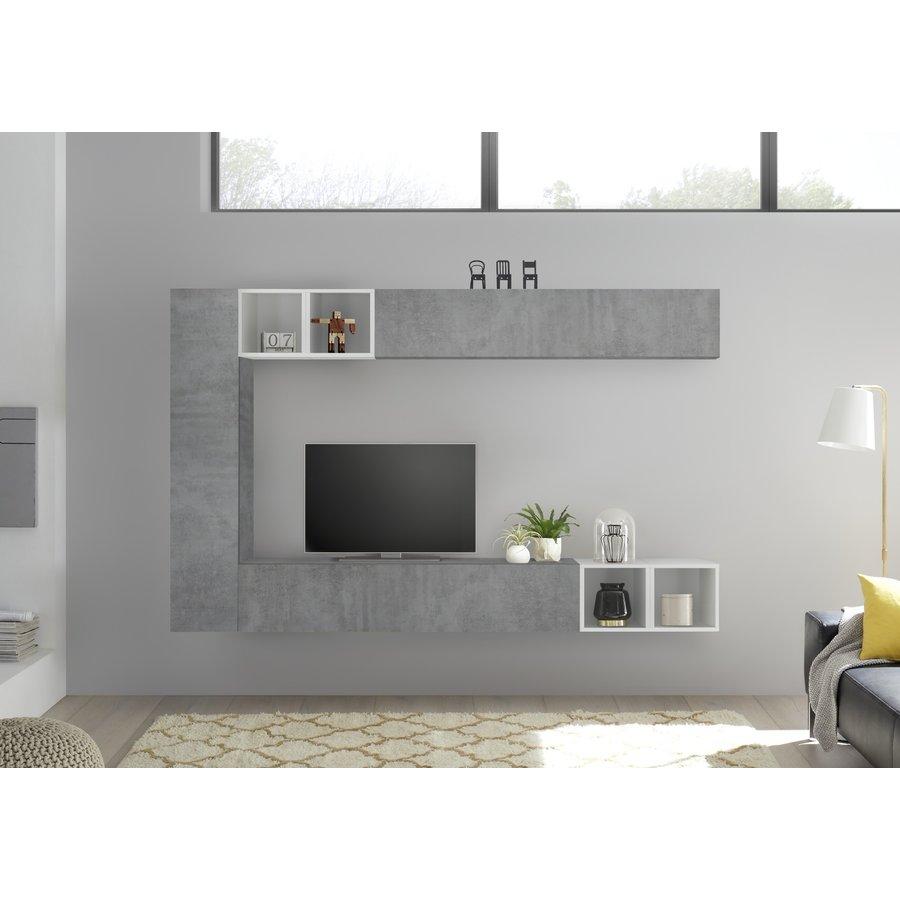 Bex TV-wandmeubel 49 Beton