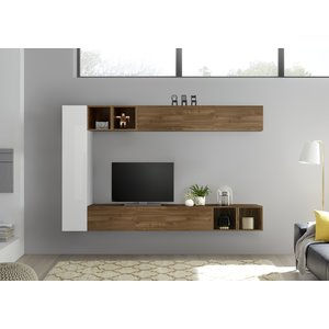 Benvenuto Design Bex TV-wandmeubel 49 Walnoot