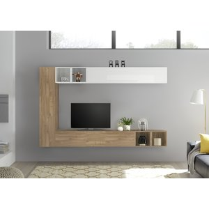 Benvenuto Design Bex TV-wandmeubel 49 Eiken