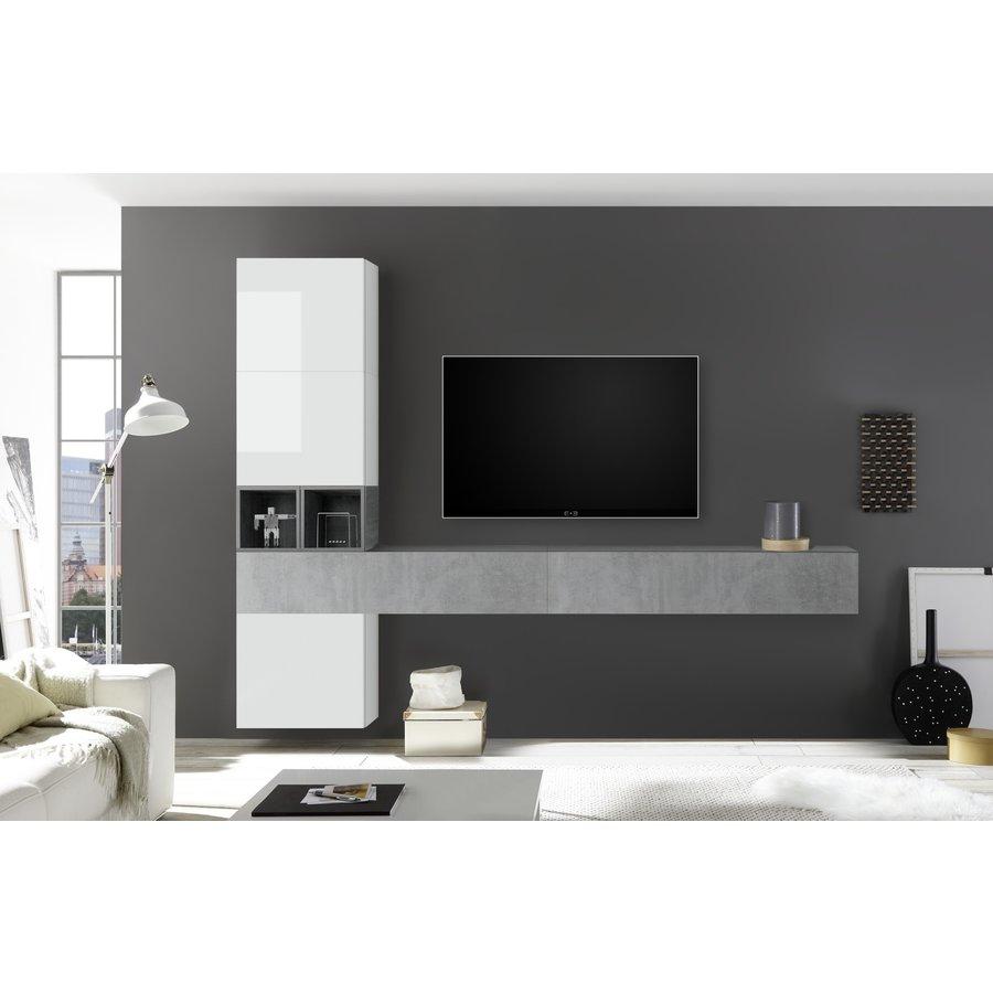 Bex TV-wandmeubel 50 Beton