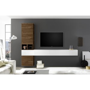 Benvenuto Design Bex TV-wandmeubel 50 Walnoot